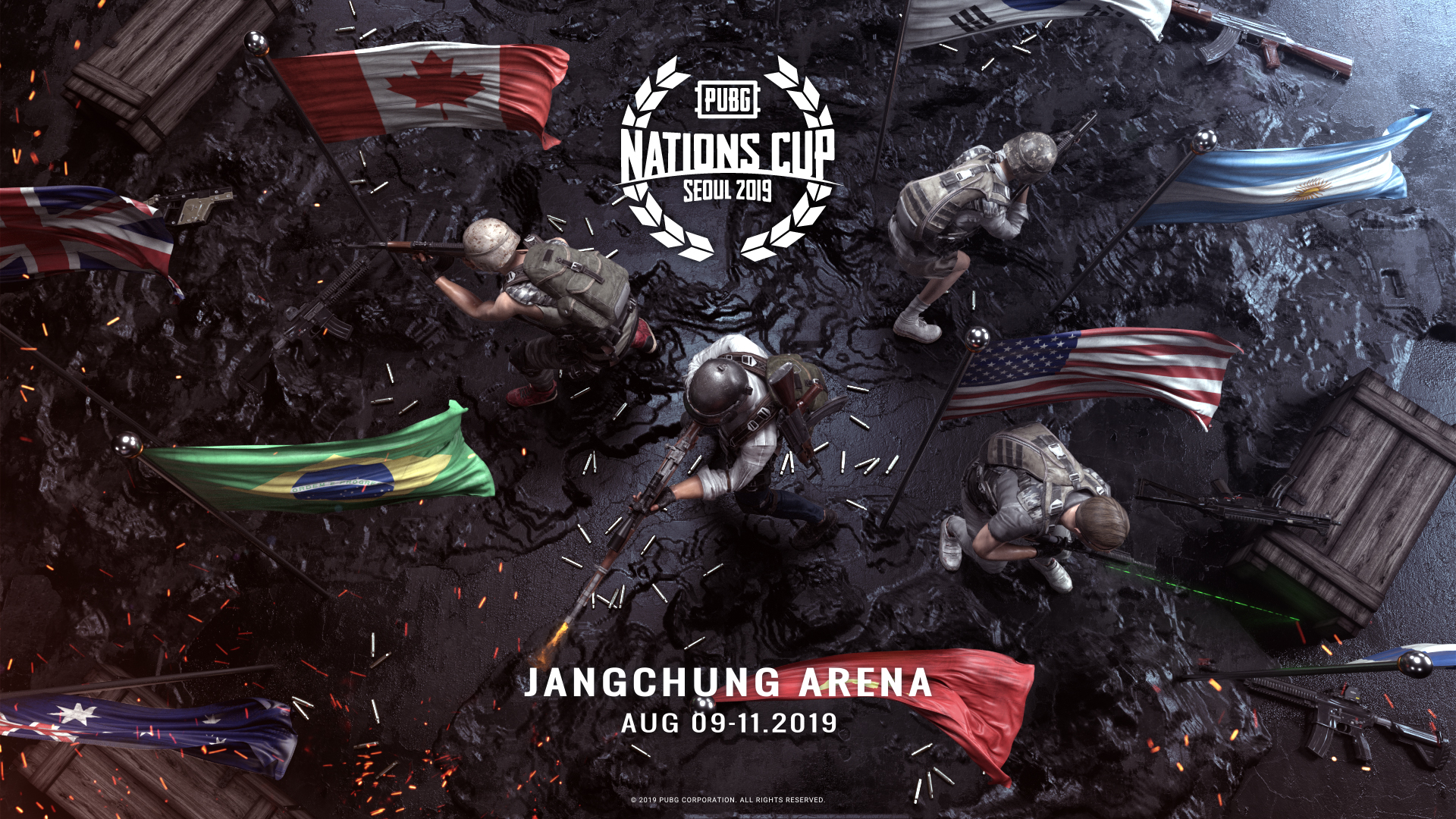 Collection of PUBG Nations Cup 2019 Wallpapers : CompetitivePUBG